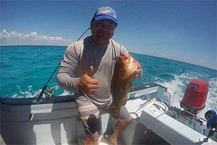 Offshore Bottom Grouper And Snapper Fishing
